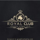 Royal Club Luxury Logo Template