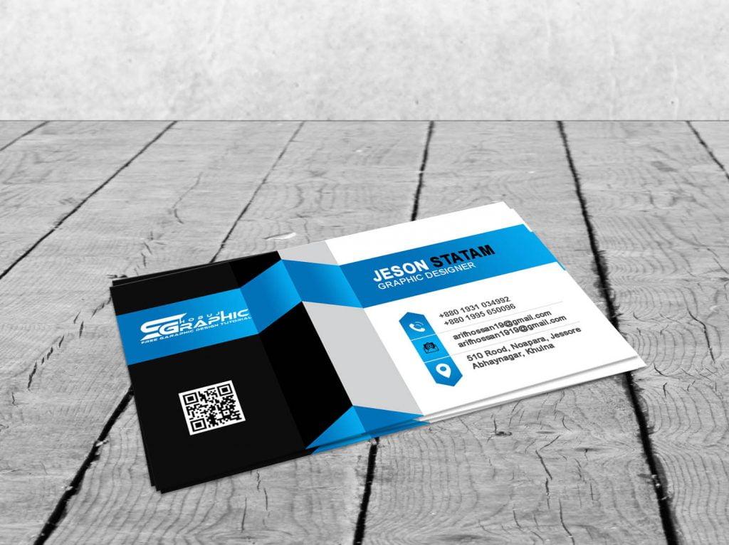 3D Business Card Design