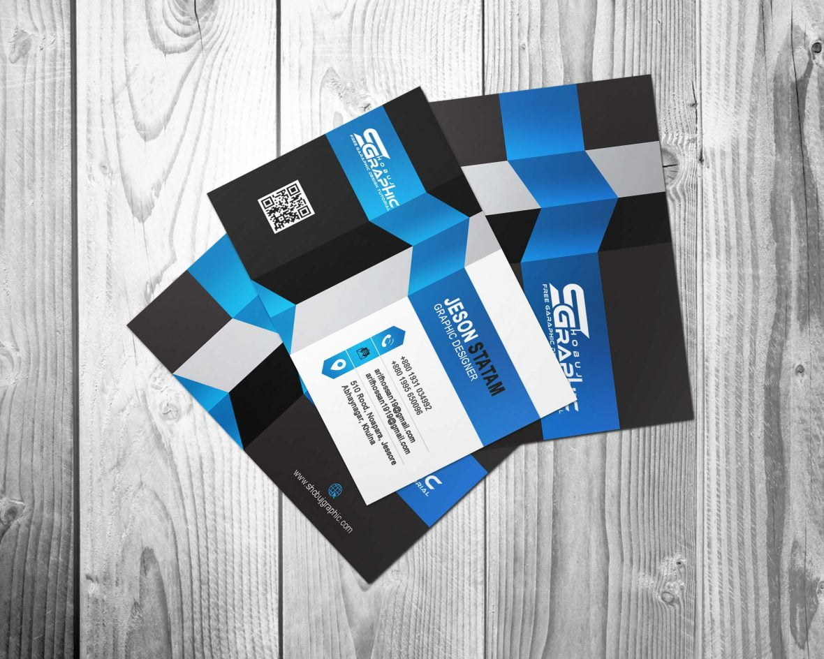 3D Business Card Design Download GraphicsFamily