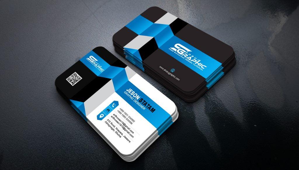 3D Business Card Design Jpeg