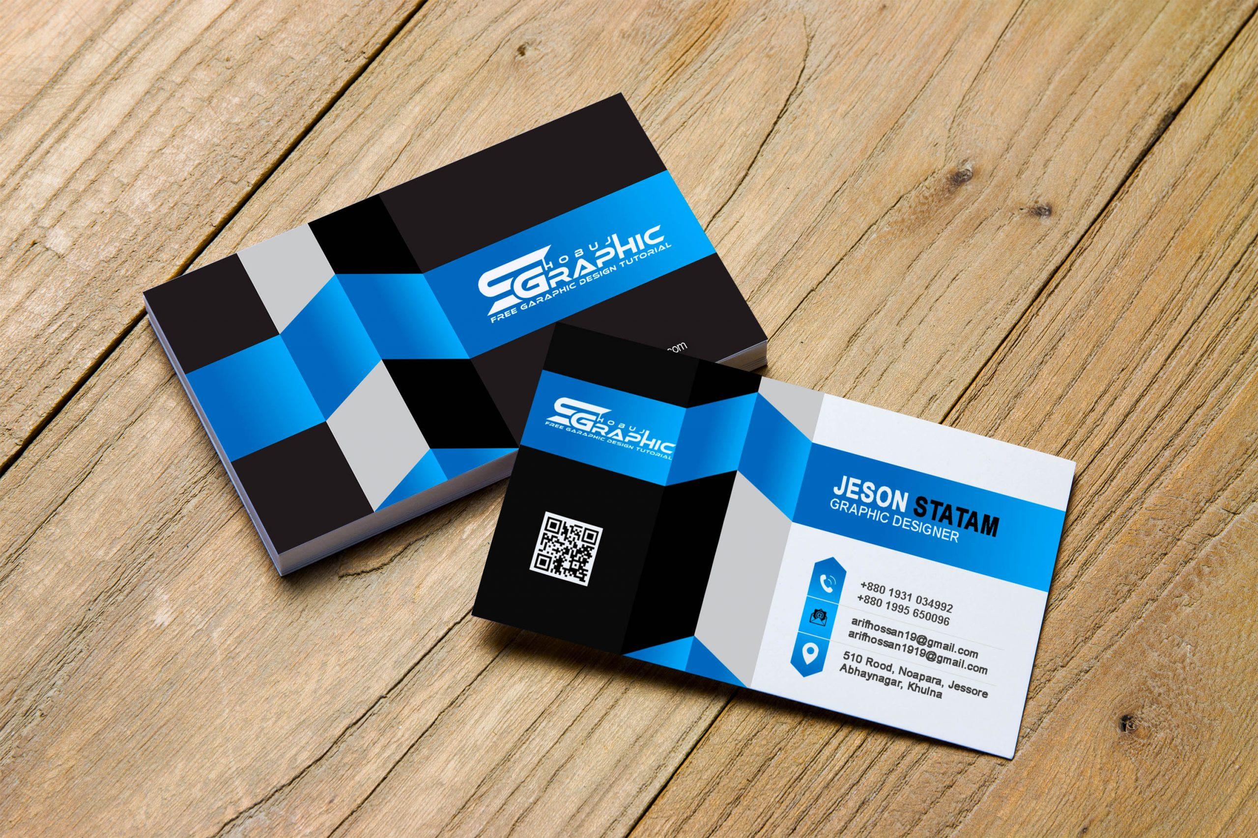 3d business card design design