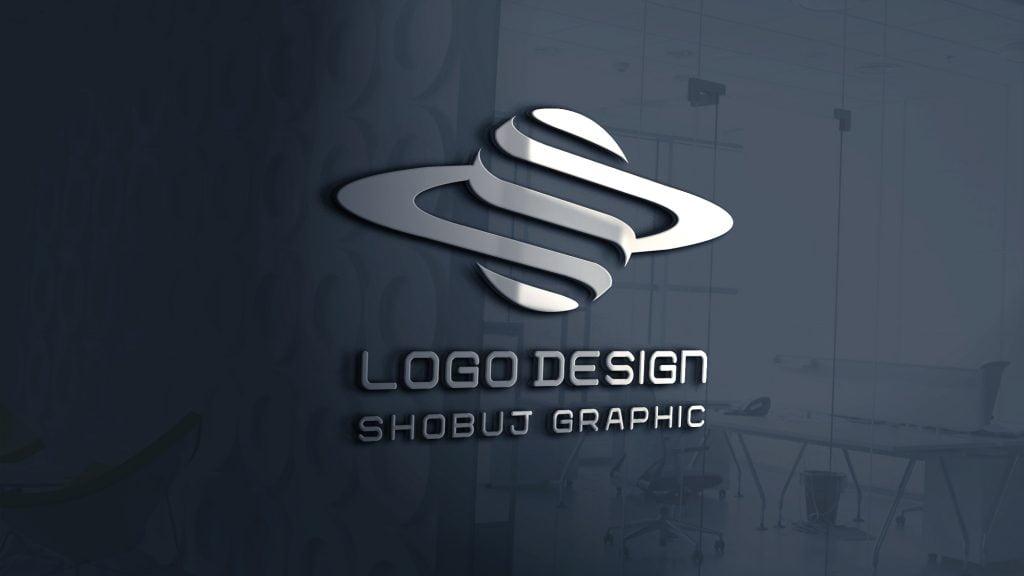 3D-Globe-Logo-Design