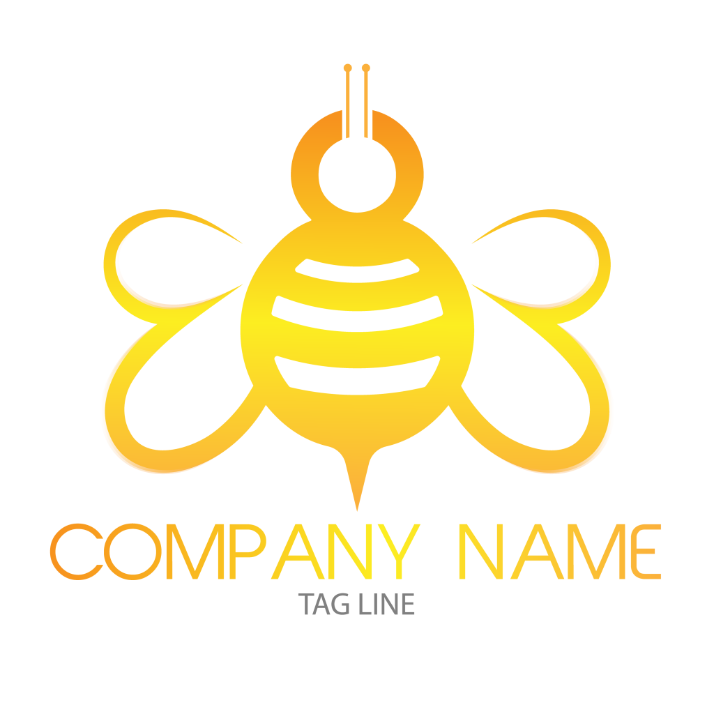 Bee Free Logo PNG-Transparent