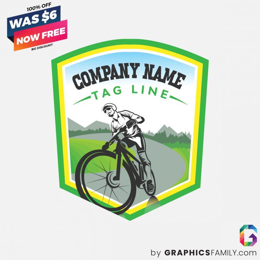 Bike-riding-logo-free-download