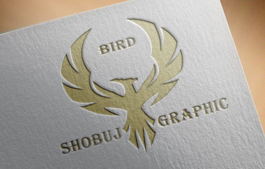 Creative Phoenix Attractive Logo Jpeg Mockup