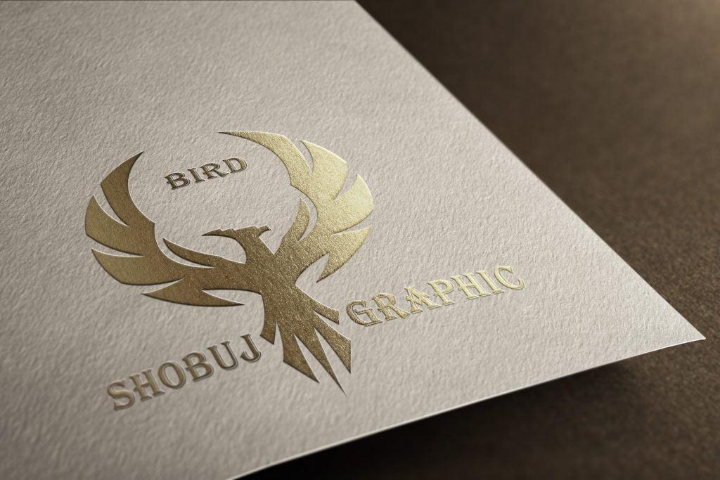 Creative Phoenix Attractive Logo Mockup