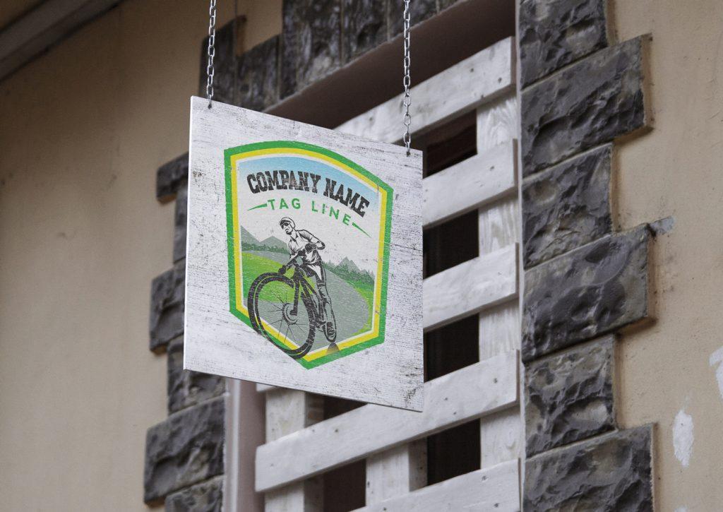 Cycling-Club-Logo-Template-Mockup