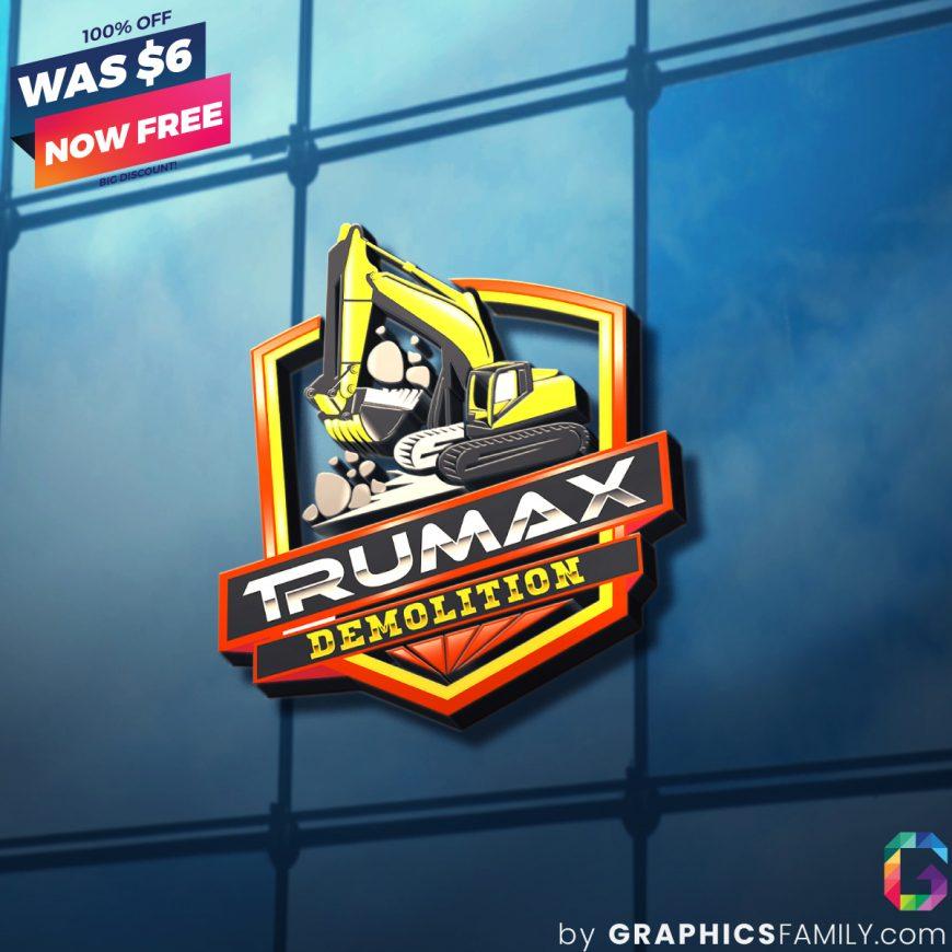 Deomlition-Logo-Construction