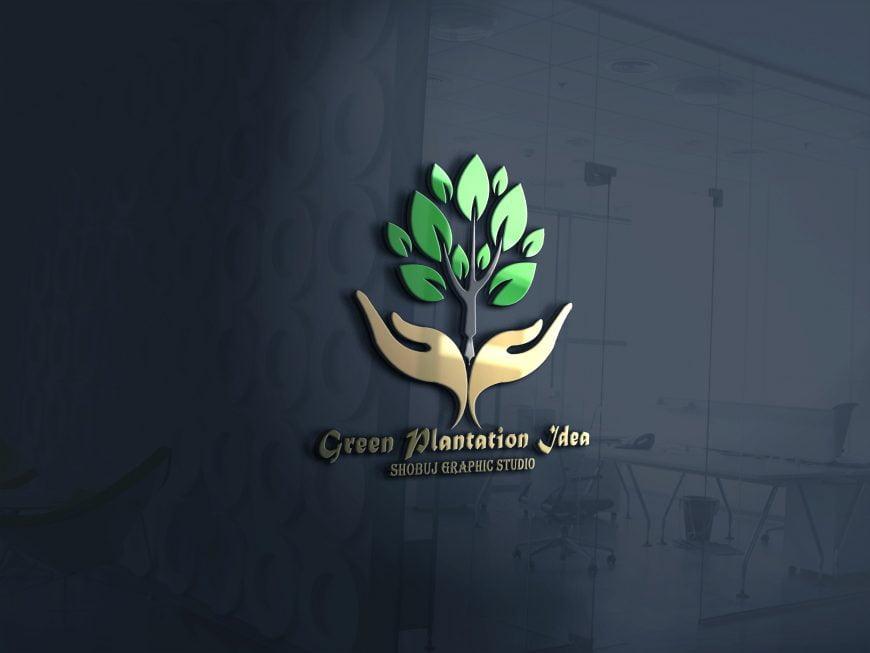 Green-Plants-Logo-Idea