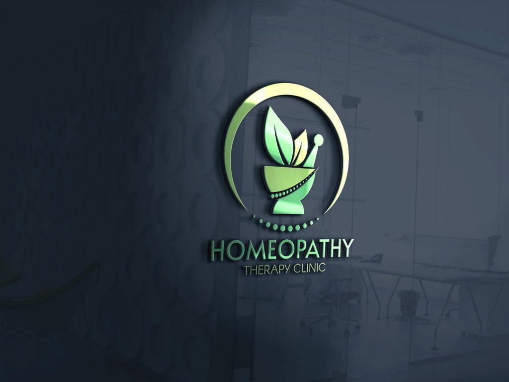 HomeoPathy-Therapy-Clinic-Logo-mockup