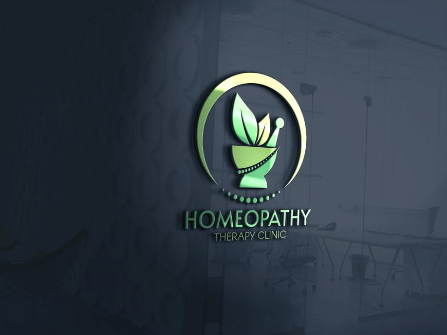 HomeoPathy-Therapy-Clinic-Logo-mockup