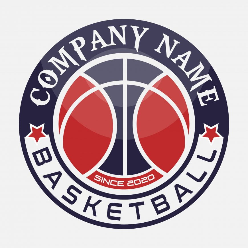 Basketball and Sports Free Logo