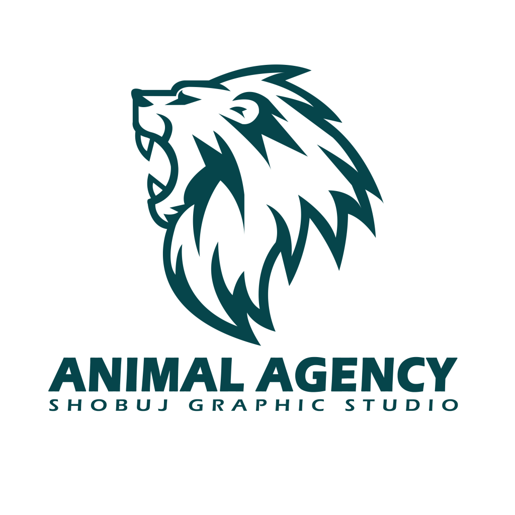 Lion Agency Logo PNG Transparent