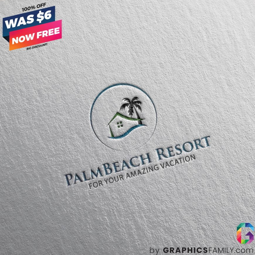 PalmBeach-Resort-Logo-Design