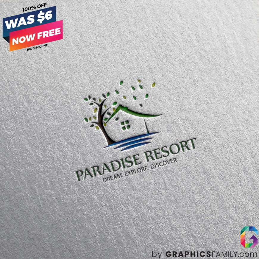 Paradise-Resort-Logo-Template-Free-Download