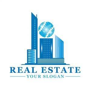 Professional Real Estate Logo Template JPEG
