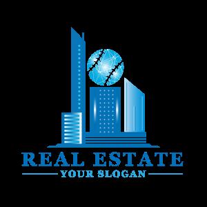 Professional Real Estate Logo Template Transparent