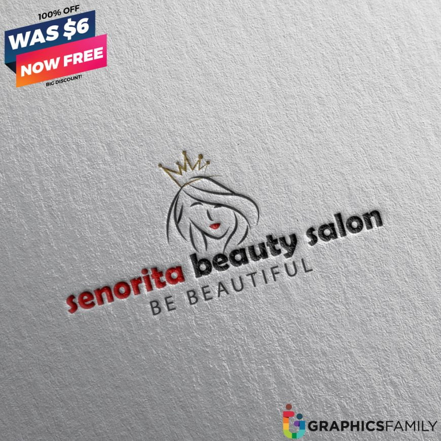 Senorita-Beauty-Salon-Logo-Free-Download