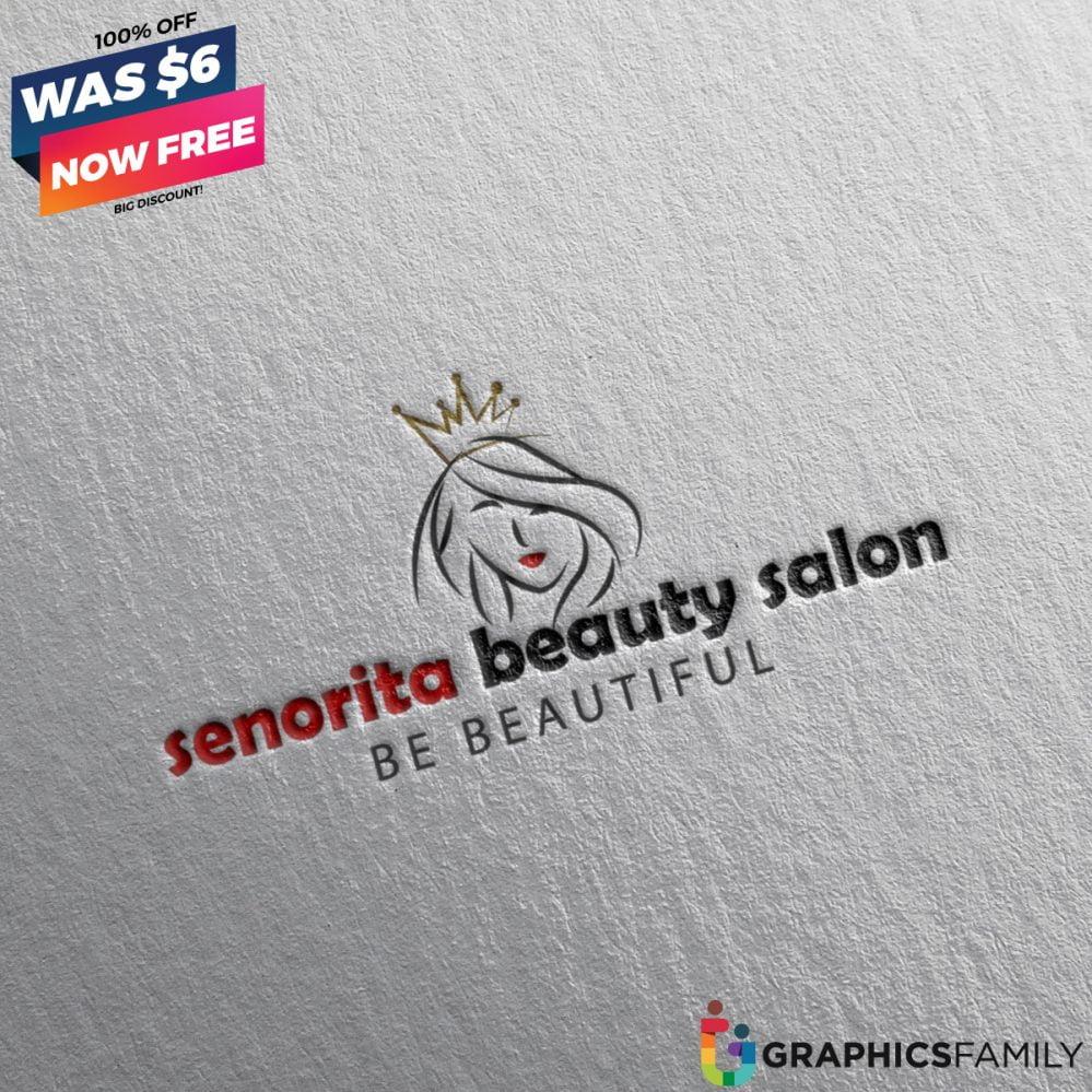 Senorita-Beauty-Salon-Logo-Free-Download