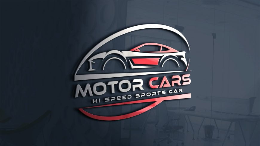Speed Sports Car Logo Template
