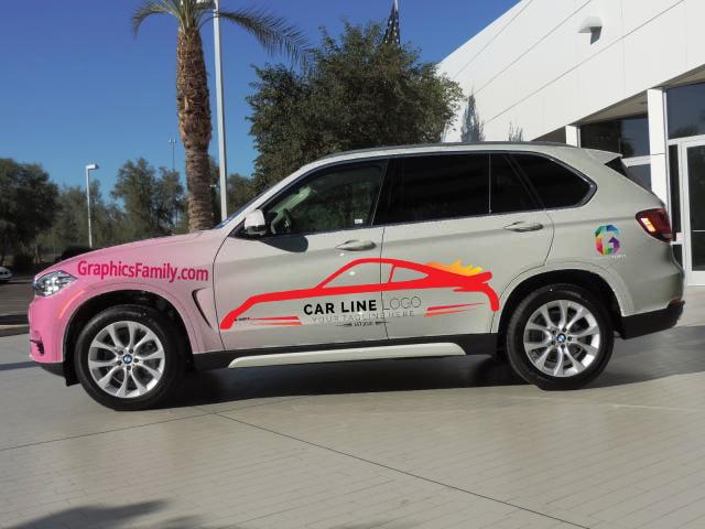 X5-Bmw-Car-Line-Logo-Mockup
