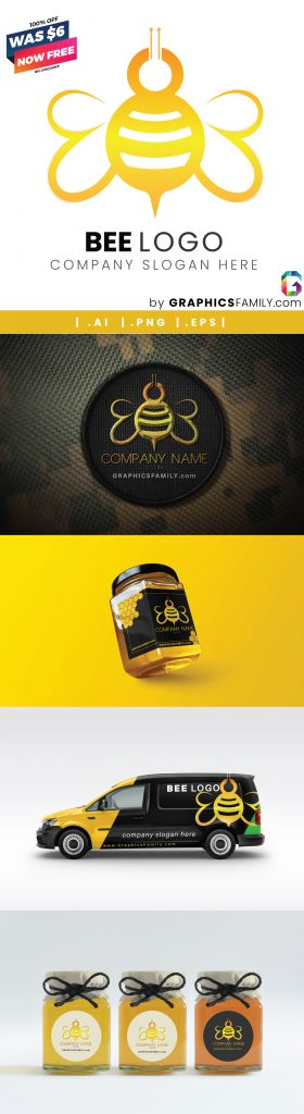 bee-free-template-mockup-collection