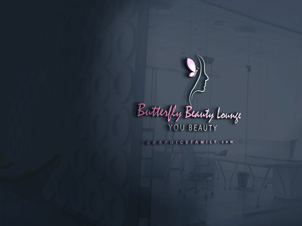 butterfly-beauty-lounge-logo-3d-glass-mockup