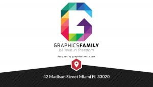 card free leter g logo mockup