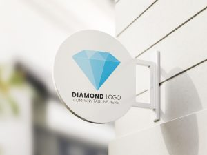 diamond-logo-design-Sign-Mockup