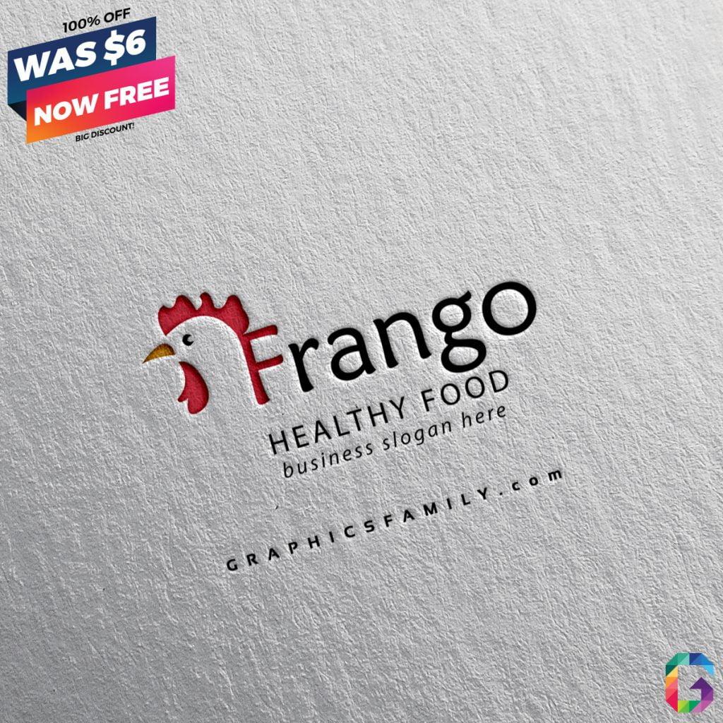 frango-poultry-farm-logo-template-design