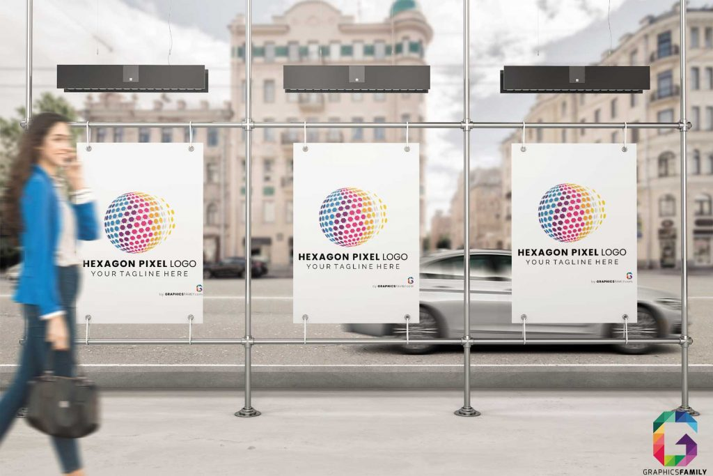 hexagon-logo-template-tri-Billboard-Mockup