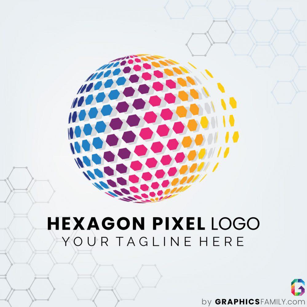 hexagon-pixel-logo