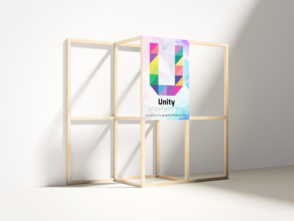 letter O logo mockup