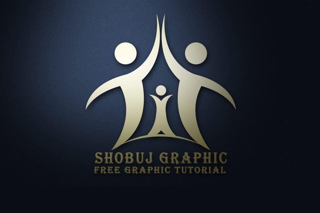 life insurance company logo mockup jpeg