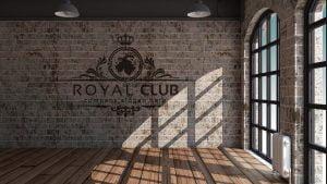 mockup-royal-club-logo-design-interior-wall-room-decor
