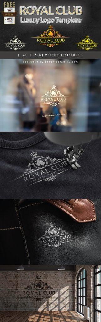 mockup-royal-club-luxury-logo