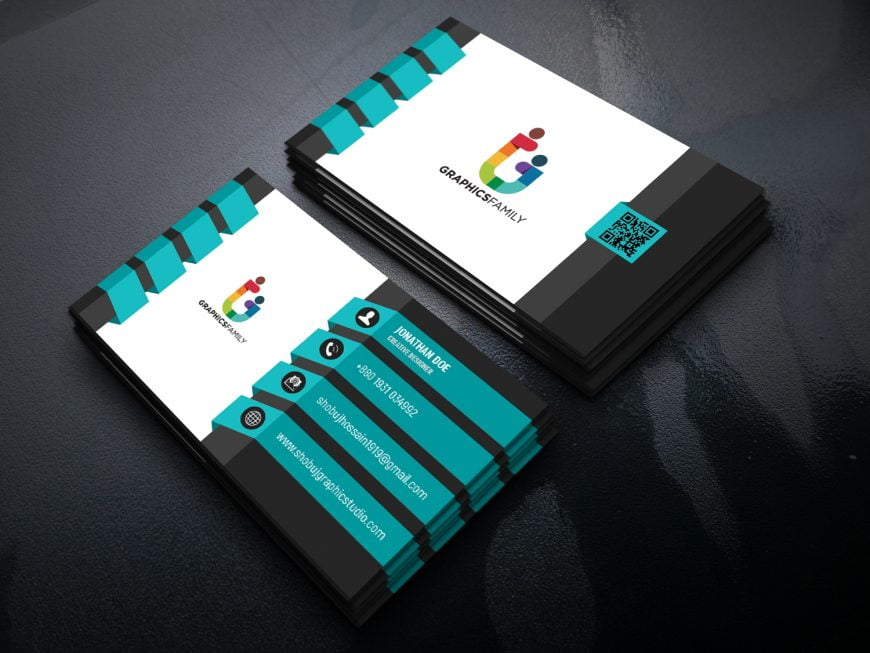 3D Creative Designer Business Card Template Download