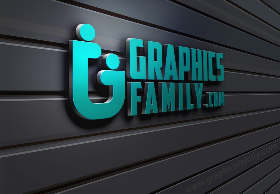 3D-Wall-Logo-MockUp