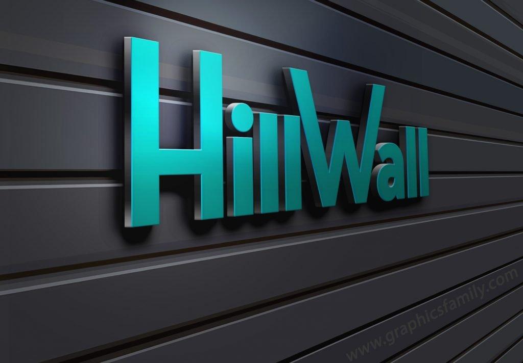 3D-Wall-Logo-MockUp-HillWall