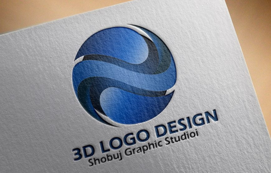3d Logo Design Full PSD Source