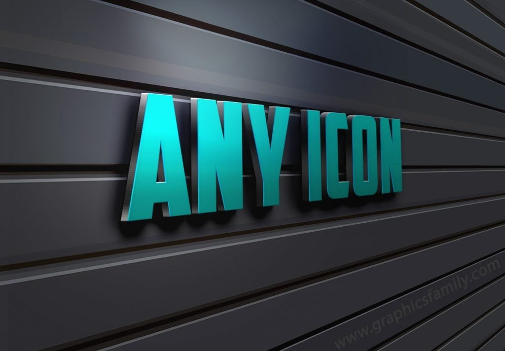 ANY-ICON-3D-Wall-Logo-MockUp
