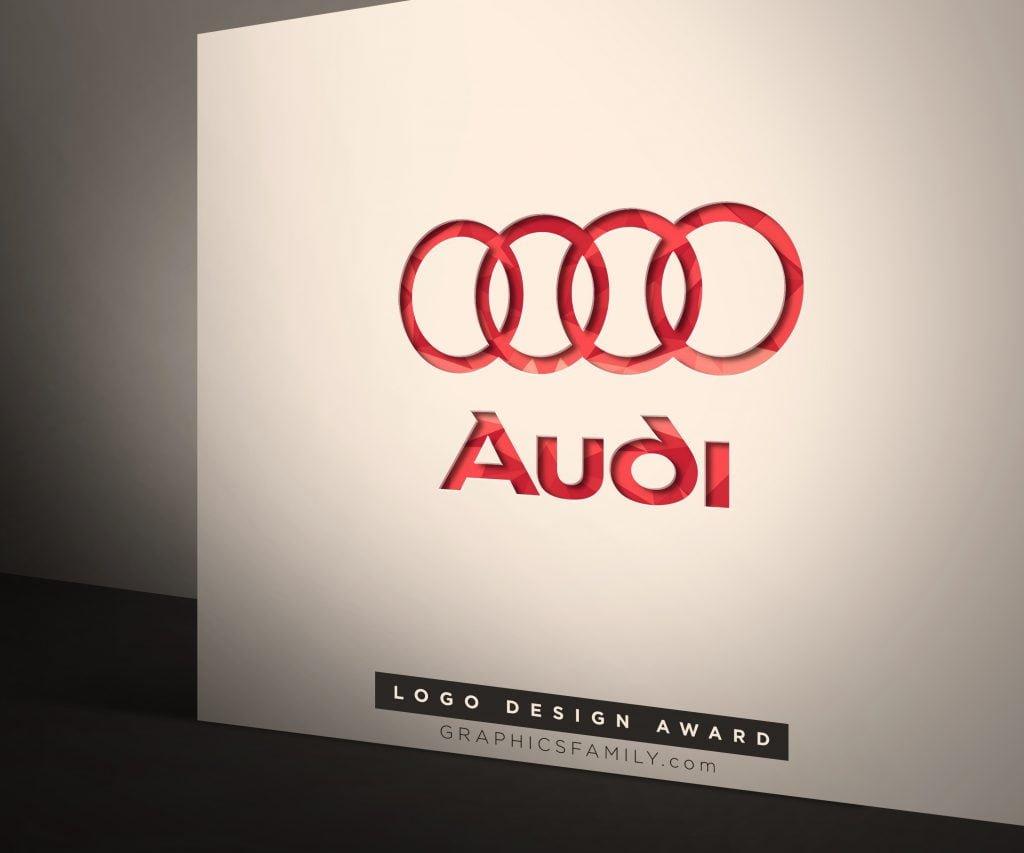AUDI-Corporate Logo Mock-Up
