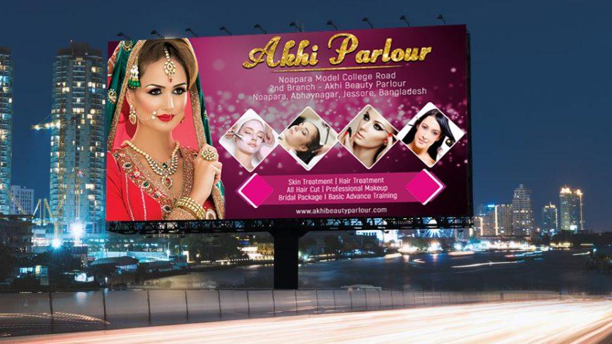 Beauty Parlour Banner Design