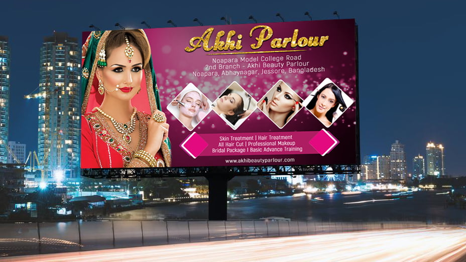 Beauty Parlour Banner Design