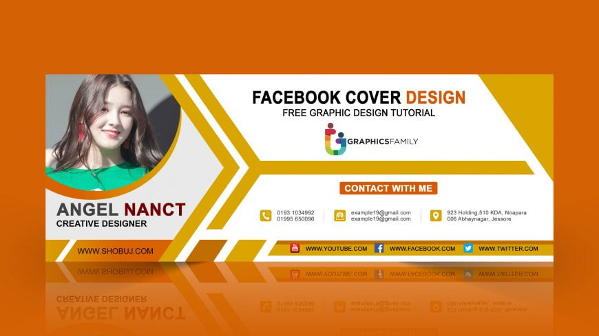 Business Teachers PSD Facebook Cover Design