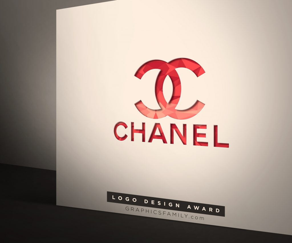 COCO-Chanel-Corporate Logo Mock-Up
