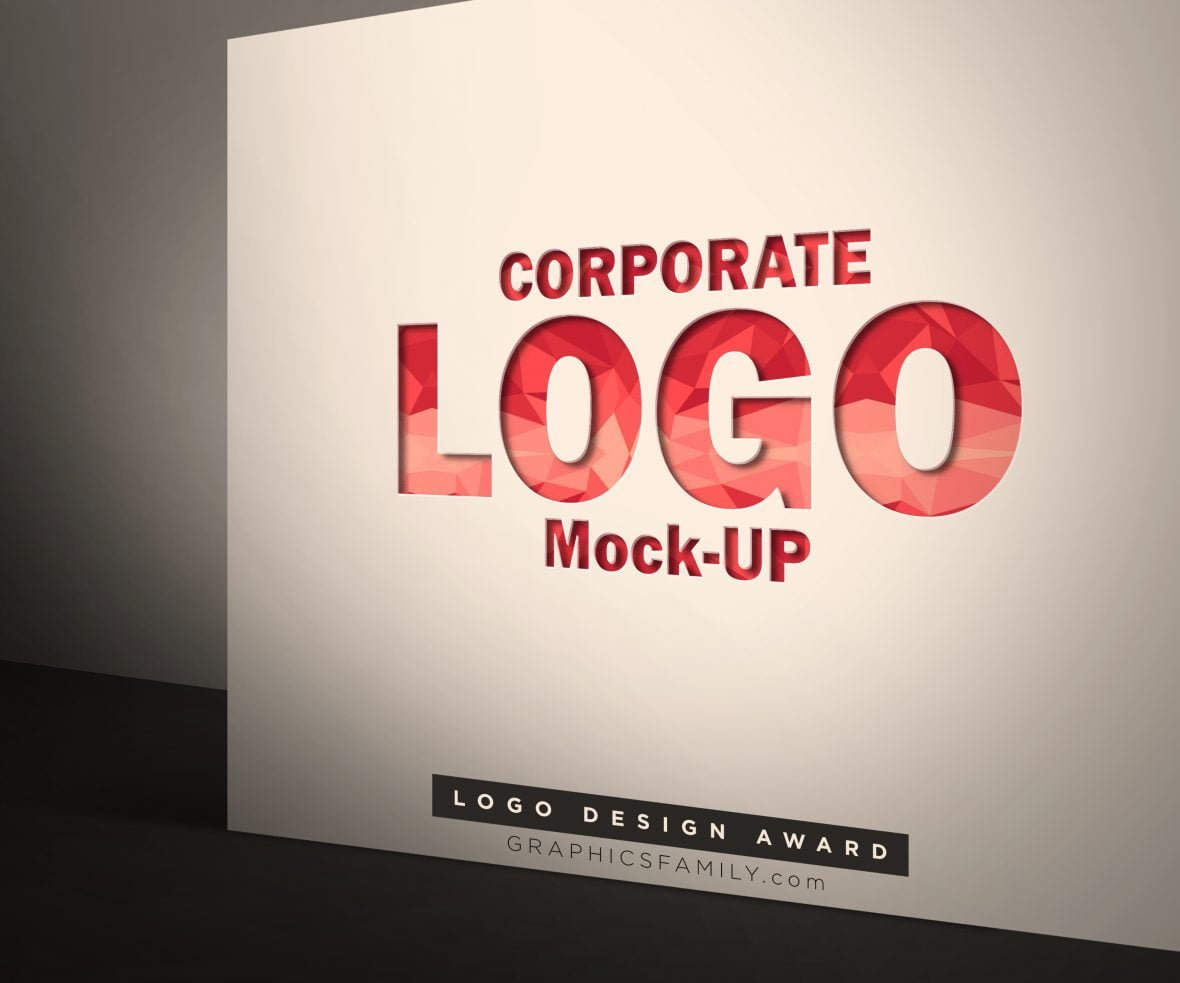 Corporate Logo Mock-Up