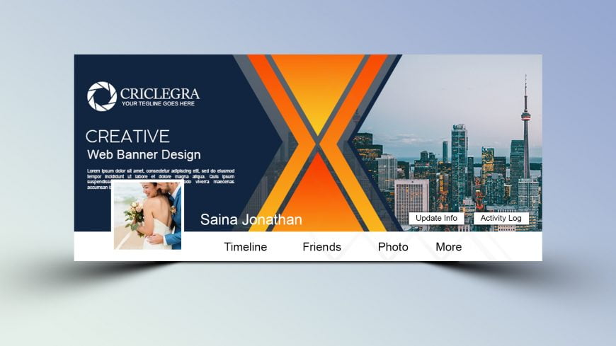 Creative Free PSD Facebook Cover Design