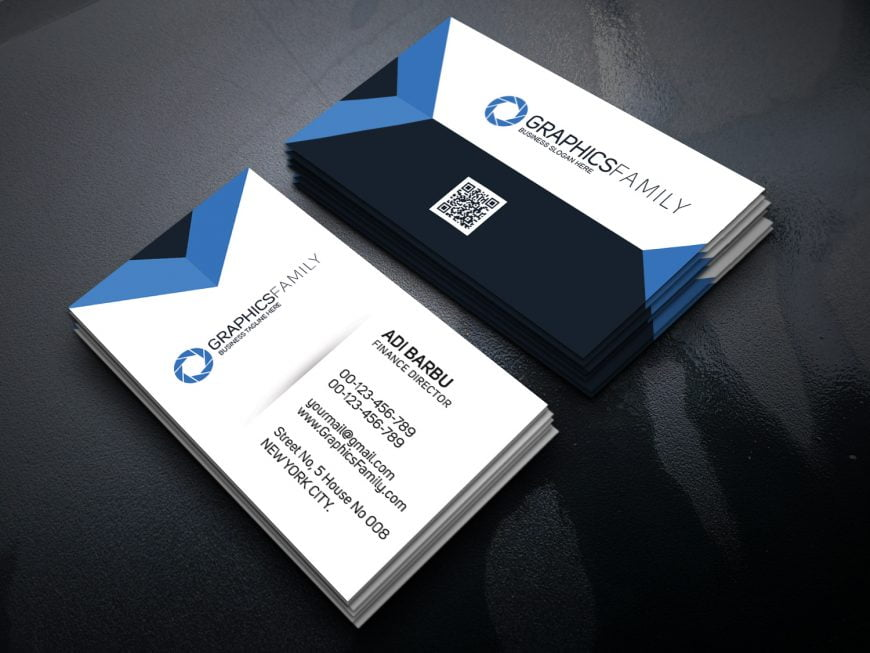 Finance-Director-PSD-Business-Card-Template