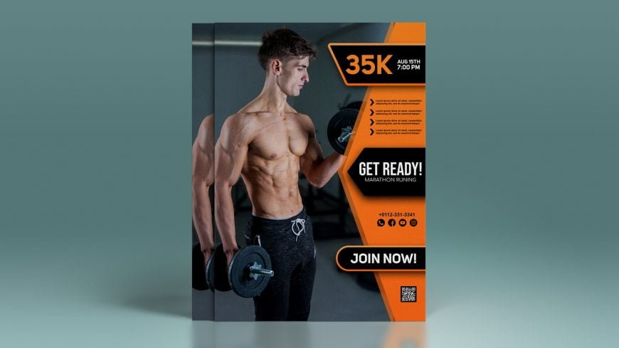 Fitness-.PSD-Flyer-Template